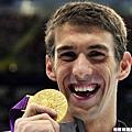 Michael Phelps ── 22 面奧運獎牌