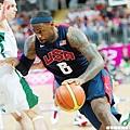 LeBron James 倫敦奧運對立陶宛
