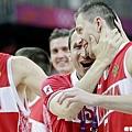 俄羅斯(B組第一),預賽戰績四勝一敗
