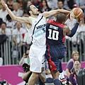 Manu Ginobili力抗Kobe