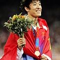劉翔拿下具有歷史意義的一面金牌
