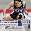 大阪田徑大獎賽,劉翔以13.19秒拿下金牌