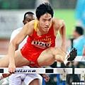 2010年廣州亞運,劉翔成功奪金
