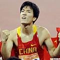 劉翔再度披上五星旗