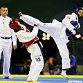 北京奧運時與哥倫比亞選手 Gladys Mora 對戰