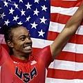 [男子田徑] 美國選手 Aries Merritt 摘下金牌