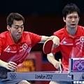 [男子桌球] 香港選手 梁柱恩和江天一