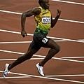 [男子田徑] 全力衝刺的 Usain Bolt