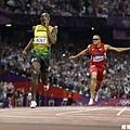 [男子田徑] Usain Bolt 衝過終點