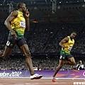 [男子田徑] Bolt 向 Blake 致意