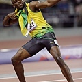 [男子田徑] Usain Bolt 展現招牌動作