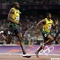 [男子田徑] Usain Bolt 超越隊友