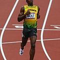 [男子田徑] Usain Bolt 到達終點