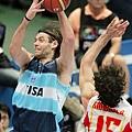 2006世錦賽準決賽對阿根廷