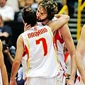 2006世錦賽準決賽對阿根廷,西班牙獲勝晉級決賽