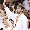 2008北京奧運銀牌,西班牙