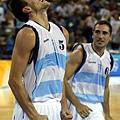 雅典奧運,阿根廷乘勝追擊。