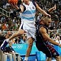 準決賽,阿根廷再度跟美國隊碰頭
