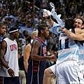 相較於美國的落寞,阿根廷顯得興奮無比