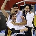預賽順利晉級,阿根廷隊員非常興奮