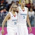 Tony Parker和Nicolas Batum是法國攻堅主力