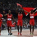 [男子田徑] 遞補銅牌的千里達與托巴哥共和國