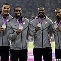 [男子田徑] 400 公尺接力賽 美國隊奪下銀牌