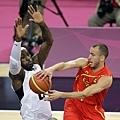 金牌戰  美國對上西班牙
