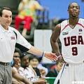 K教練 & Dwyane Wade