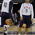Kidd & Kobe兩個資深戰將壓陣,讓美國更加沉穩
