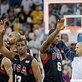 美國隊輕鬆打,場場演出精彩