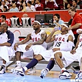 美國隊王牌排排坐