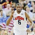 第一隊:Kevin Durant