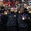2012倫敦奧運美國隊奪金