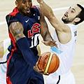 Kobe Bryant vs Manu Ginobili