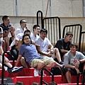 台灣大也有許多球員到場看球
