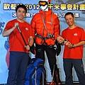 隊員莊周敏(左)、黃文辰(右)「768小時」冰峰冒險用生命博夢想,寫人生新高,兩人親歷了登山者心中的最高殿堂,盡最大努力超越自己。