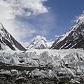 布羅德峰附近冰河