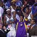 2002 獲得明星賽 MVP