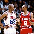 Kobe 最後一次與 Jordan 在明星賽碰頭