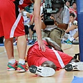 Juan Pattillo受傷倒地