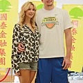 David Lee和女友Sabina Gadecki