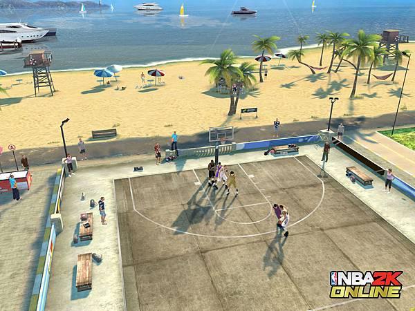 街頭模式體驗不同風格的籃球魅力