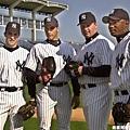 2001年球季的洋基四巨投