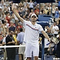 Juan Martin Del Potro 晉級八強,遭淘汰的 Roddick 將退休 離開球場