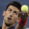 Djokovic 直落三淘汰 Del Potro