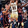 1999 年季後賽  尼克上演老八傳奇, Miller 只能無力嘆息