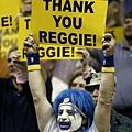 溜馬球迷表達對 Miller 的感謝