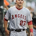 Mike Trout - 2012 洛杉磯天使