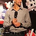 Djokovic 來台表演記者會